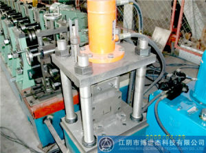 Durable Galvanized Steel Strut Channel Roll Forming Making Machine Thailand pictures & photos