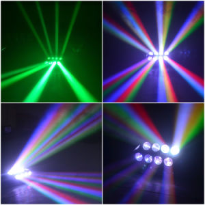 CREE 8*10W RGBW LED Sweeper Spider Beam Disco DJ Club Light pictures & photos