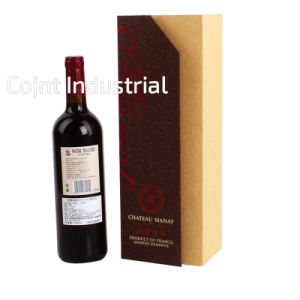 Handmade High Class Paper Rectangle Gift Wine Box with Low Prices