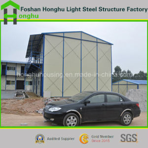 Easy Assembled Prefabricated House Mobile House with Sandwich Panel pictures & photos