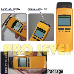 Large LCD Display Digital Wood Moisture Meter (SKV830-100) pictures & photos