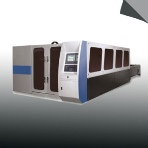Laser Type CNC Cutting Machine with Double Platform pictures & photos