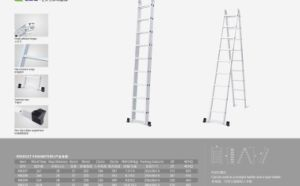 2 Hinge Multi-Purpose Ladder with High Quality pictures & photos
