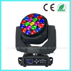 Roating 19 * 15W LED Bee Eye Moving Head Zoom