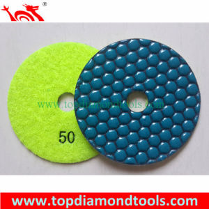 Angle Grinder Polishing Pads with 7 Step Dry Polishing pictures & photos