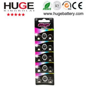 1.55V Silver Oxide Button Cell Battery Sg1 pictures & photos