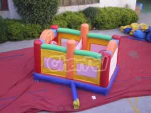 Colorful Inflatable Bouncer for Funny pictures & photos