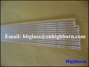 High Purity Clear Silica Quartz Glass Rod Supplier pictures & photos
