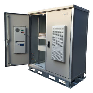 Outdoor Aluminum Cabinet with 2 Doors for Base Station pictures & photos