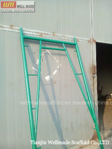 Snap on Walk Through Frame Scaffolding W/ Steel Ladder pictures & photos