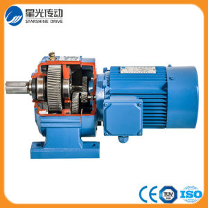 R57-Y90L4-1.5-35.07 R Series Inline Shaft Helical Geared Motor pictures & photos