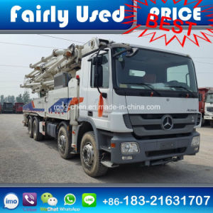 Used Zoomline Pump Truck with Benz Chassis for Sale pictures & photos