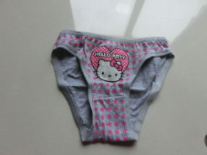 Customize Little Girl Panty Cotton Kids Underwear