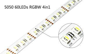 5050 60LEDs 24V RGBW LED Strip pictures & photos