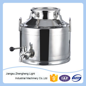 Stainless Steel Insulation Barrel with Butterfly Valve pictures & photos