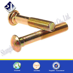 Main Yellow Zinc Finished Pipe Bolt pictures & photos