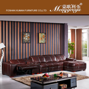 Top Grain Leather Sofa (625#)