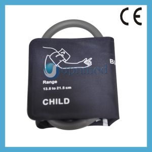 Child NIBP Cuff Without Bladder, Single Tube, 13.8-21.5cm pictures & photos