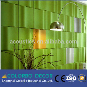 Acoustic Polyester Fiber Decorative Soundproof Wall Panels 3D pictures & photos