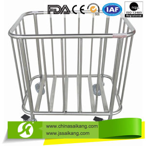 Commercial Furniture Cheap Portable Manual Trolley for Medical Use pictures & photos
