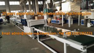 PVC Ceiling Panel Production Line Machine pictures & photos