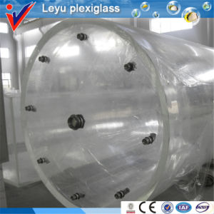 High Transparency Cylindrical Acrylic Aquarium pictures & photos