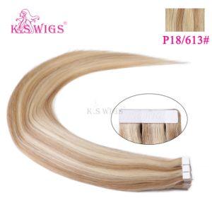 High Class Virgin Tape Hair Human Hair Extension pictures & photos