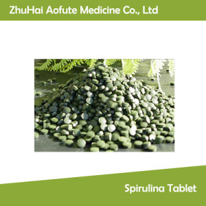 GMP Standard Spirulina Tablet pictures & photos