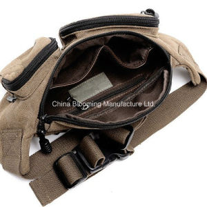 Vintage Canvas Running Cycling Pack Saddlebag Travel Belt Waist Bag pictures & photos