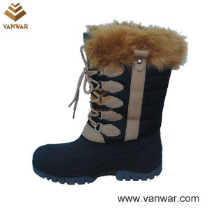 Snow Boots with High Quality and Waterproof Outsole (WSB025) pictures & photos
