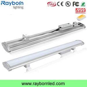 135lm/W IP65 Waterproof Frosted/Clear Cover 120W 150W 200W Linear LED High Bay Light pictures & photos