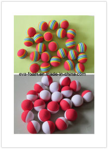Unique Golf Balls Injection EVA Foam Ball Toy Kids Soft Foam Play Brickspvc Soft Blocks pictures & photos