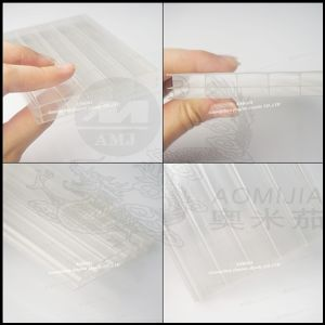 Multi-Wall Polycarbonate Sheet 5-Layer Diamond PC Hollow Sheet