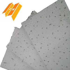Perforated Sandy Texture Ceiling Mineral Fiber Board (CE certificate) pictures & photos