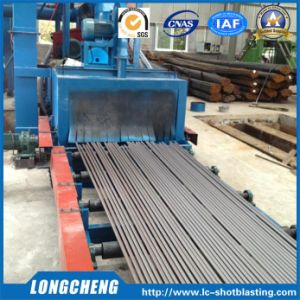 Conveying Type Round Bar Shot Blasting Machine