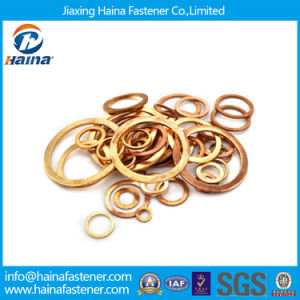 Marine Type Gaskets Washer/ Copper Flat Washers pictures & photos