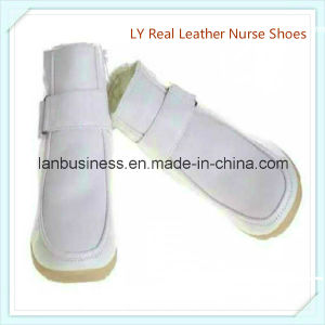 Ly Winter Real Leather Nurse Shoes (LY-MUN) pictures & photos