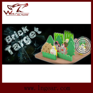 Military Airsoft Gun Target Tactical Shooting Target Brick Target pictures & photos