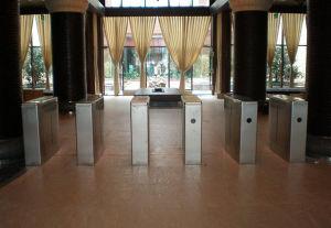 Intelligent Station Cheap Flap Barrier Turnstile Gate pictures & photos