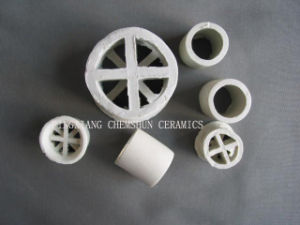Chemshun Ceramic Raschig Ring and Cross-Partition Ring Manufactueres pictures & photos