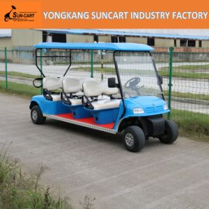 Powerfull Electric 6 Passenger Golf Cart, Sightseeing Golf Cart, Cheap Golf Cart for Sale pictures & photos