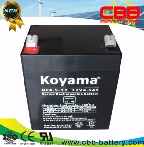 12V 4.5ah AGM Lead Acid UPS Battery pictures & photos