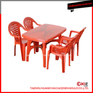 Plastic/Rectangular Dining Table Mould with Good Quality pictures & photos