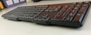 2017 New Ultrathin USB Wired Computer Keyboard pictures & photos