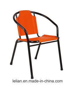 Various Color PE Rattan Indoor-Outdoor Restaurant Stack Chair (LL-0024) pictures & photos