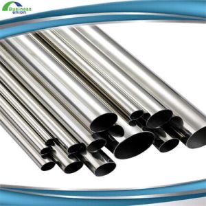 Small Diameter 304 Stainless Steel Brushed Stainless Welded Pipe pictures & photos
