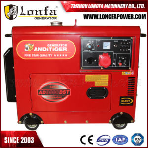 Super Silent 3 Phase 5kw 5kVA 186f Diesel Generator pictures & photos