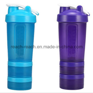 New Design Plastic Protein Shaker Bottle (R-S039) pictures & photos