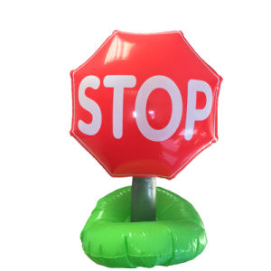 PVC Inflatable Traffic Sign Tool pictures & photos