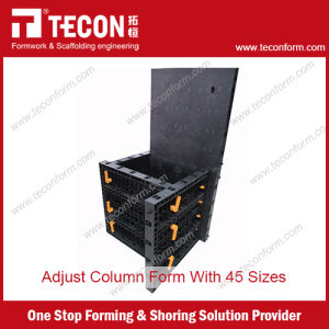 Tecon Adjustable Plastic Formwork for Column Concrete pictures & photos